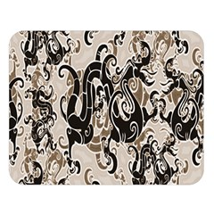 Dragon Pattern Background Double Sided Flano Blanket (large)