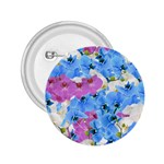 Tulips Floral Pattern 2.25  Buttons