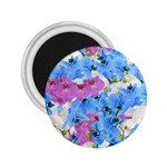 Tulips Floral Pattern 2.25  Magnets