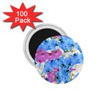Tulips Floral Pattern 1.75  Magnets (100 pack)