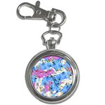 Tulips Floral Pattern Key Chain Watches