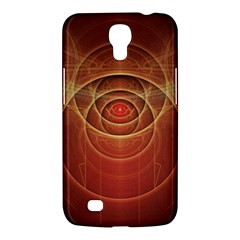 The Rusty Red Fractal Scarab Of Fiery Old Man Ra Samsung Galaxy Mega 6 3  I9200 Hardshell Case by jayaprime