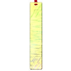Paint On A Yellow Background                        Large Book Mark by LalyLauraFLM
