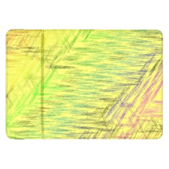 Paint On A Yellow Background                  Samsung Galaxy Tab 10 1  P7500 Flip Case by LalyLauraFLM
