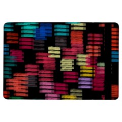 Colorful Horizontal Paint Strokes                   Apple Ipad Mini 2 Flip Case by LalyLauraFLM