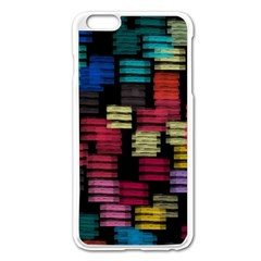 Colorful Horizontal Paint Strokes                   Apple Iphone 6/6s Leather Folio Case by LalyLauraFLM