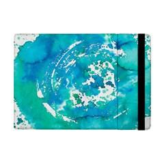 Blue Watercolors Circle                    Samsung Galaxy Tab Pro 12 2  Flip Case by LalyLauraFLM