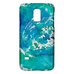 Blue Watercolors Circle                    Lg Optimus L70 Hardshell Case by LalyLauraFLM