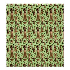 Puppy Dog Pattern Shower Curtain 66  X 72  (large)