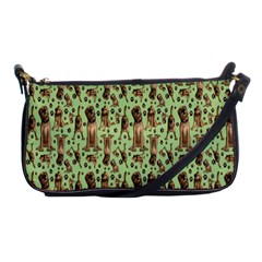 Puppy Dog Pattern Shoulder Clutch Bags