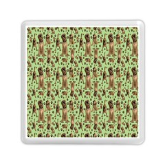 Puppy Dog Pattern Memory Card Reader (square)