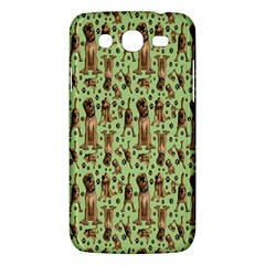 Puppy Dog Pattern Samsung Galaxy Mega 5 8 I9152 Hardshell Case  by BangZart