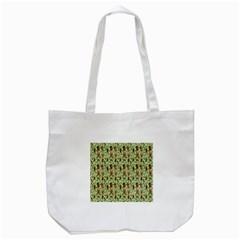 Puppy Dog Pattern Tote Bag (white) by BangZart