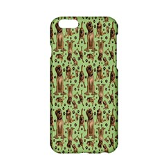 Puppy Dog Pattern Apple Iphone 6/6s Hardshell Case by BangZart