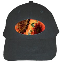 Sunflower Art  Artistic Effect Background Black Cap by BangZart