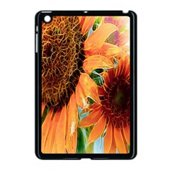 Sunflower Art  Artistic Effect Background Apple Ipad Mini Case (black) by BangZart