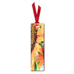 Sunflower Art  Artistic Effect Background Small Book Marks by BangZart