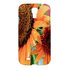 Sunflower Art  Artistic Effect Background Samsung Galaxy S4 I9500/i9505 Hardshell Case by BangZart