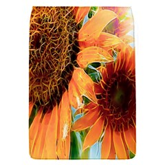 Sunflower Art  Artistic Effect Background Flap Covers (s)  by BangZart