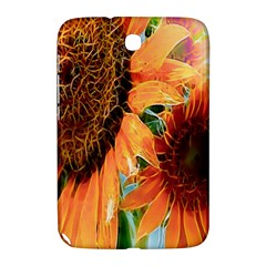 Sunflower Art  Artistic Effect Background Samsung Galaxy Note 8 0 N5100 Hardshell Case