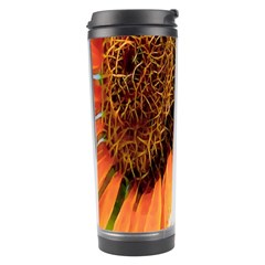 Sunflower Art  Artistic Effect Background Travel Tumbler