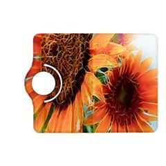 Sunflower Art  Artistic Effect Background Kindle Fire Hd (2013) Flip 360 Case by BangZart
