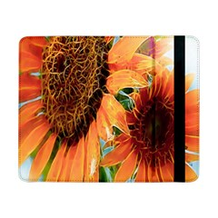 Sunflower Art  Artistic Effect Background Samsung Galaxy Tab Pro 8 4  Flip Case