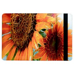 Sunflower Art  Artistic Effect Background Ipad Air 2 Flip
