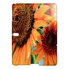 Sunflower Art  Artistic Effect Background Samsung Galaxy Tab S (10 5 ) Hardshell Case  by BangZart