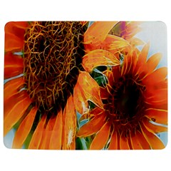 Sunflower Art  Artistic Effect Background Jigsaw Puzzle Photo Stand (rectangular) by BangZart