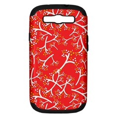 Small Flowers Pattern Floral Seamless Pattern Vector Samsung Galaxy S Iii Hardshell Case (pc+silicone)