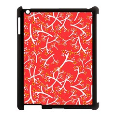 Small Flowers Pattern Floral Seamless Pattern Vector Apple Ipad 3/4 Case (black) by BangZart