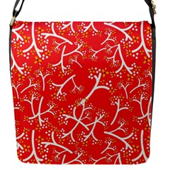 Small Flowers Pattern Floral Seamless Pattern Vector Flap Messenger Bag (s)