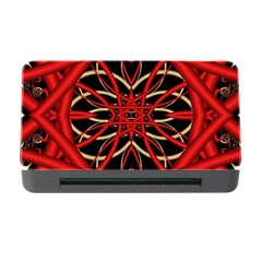 Fractal Wallpaper With Red Tangled Wires Memory Card Reader With Cf by BangZart
