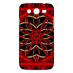 Fractal Wallpaper With Red Tangled Wires Samsung Galaxy Mega 5 8 I9152 Hardshell Case  by BangZart