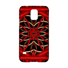 Fractal Wallpaper With Red Tangled Wires Samsung Galaxy S5 Hardshell Case  by BangZart