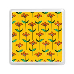 Small Flowers Pattern Floral Seamless Pattern Vector Memory Card Reader (square)  by BangZart