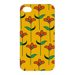 Small Flowers Pattern Floral Seamless Pattern Vector Apple Iphone 4/4s Premium Hardshell Case by BangZart