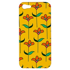 Small Flowers Pattern Floral Seamless Pattern Vector Apple Iphone 5 Hardshell Case by BangZart