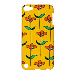 Small Flowers Pattern Floral Seamless Pattern Vector Apple Ipod Touch 5 Hardshell Case by BangZart