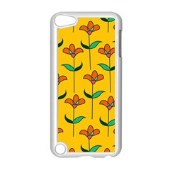 Small Flowers Pattern Floral Seamless Pattern Vector Apple Ipod Touch 5 Case (white) by BangZart