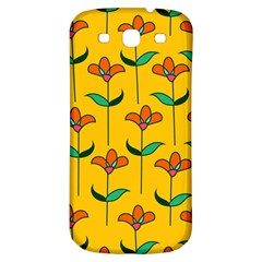 Small Flowers Pattern Floral Seamless Pattern Vector Samsung Galaxy S3 S Iii Classic Hardshell Back Case by BangZart