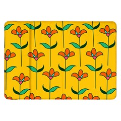 Small Flowers Pattern Floral Seamless Pattern Vector Samsung Galaxy Tab 8 9  P7300 Flip Case