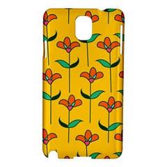 Small Flowers Pattern Floral Seamless Pattern Vector Samsung Galaxy Note 3 N9005 Hardshell Case