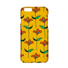 Small Flowers Pattern Floral Seamless Pattern Vector Apple Iphone 6/6s Hardshell Case