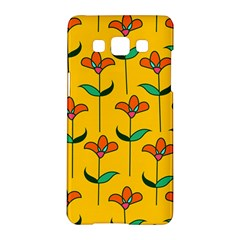 Small Flowers Pattern Floral Seamless Pattern Vector Samsung Galaxy A5 Hardshell Case  by BangZart