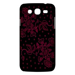 Pink Floral Pattern Background Wallpaper Samsung Galaxy Mega 5 8 I9152 Hardshell Case