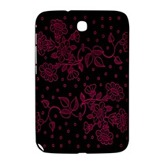 Pink Floral Pattern Background Wallpaper Samsung Galaxy Note 8 0 N5100 Hardshell Case