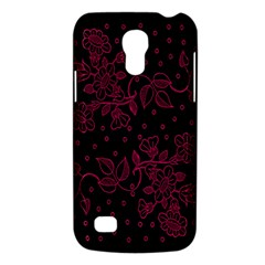Pink Floral Pattern Background Wallpaper Galaxy S4 Mini