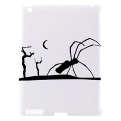 Dark Scene Silhouette Style Graphic Illustration Apple Ipad 3/4 Hardshell Case (compatible With Smart Cover) by dflcprints